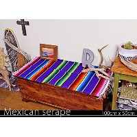 RUG&PIECE Mexican Serape made in mexcico ネイティブ メキシカン サラペ メキシコ製 (rug-5526)