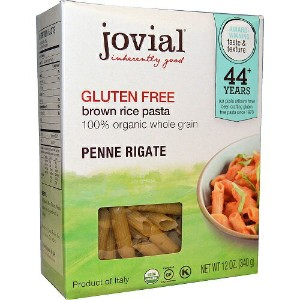 Jovial Gluten Free Brown Rice Pasta Penne Rigate 12oz (340g) 【訳あり/賞味期限 2017年11月26日まで】