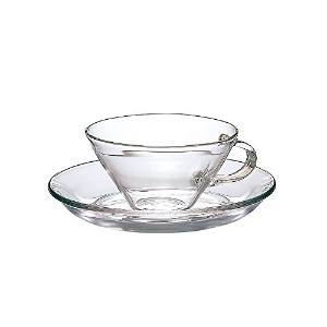 Hario Tea Cup and Saucer Set [並行輸入品]