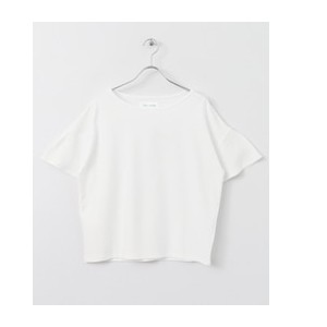 DOORS FORK&SPOON Bell-sleeve Top【アーバンリサーチ/URBAN RESEARCH レディス Tシャツ・カットソー WHITE ルミネ LUMINE】