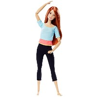 [バービー]Barbie Made to Move Doll, Light Blue Top DPP74 [並行輸入品]