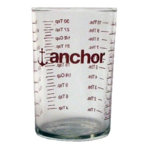 Anchor Hocking 91016l12 5 Oz Glass Measuring Glass by Anchor Hocking