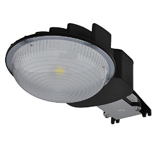 LEDwholesalers 70W LED領域と壁セキュリティライト、ul-listed & dlc-qualifiedデイライト、5000K、3904WH