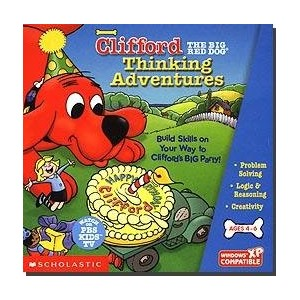 Clifford Thinking Adventures by Scholastic