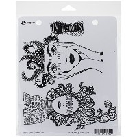 """Dyan Reaveley's Dylusions Cling Stamp Collections 8.5""""X7""""-Survivor (並行輸入品)"""