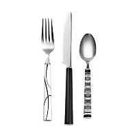 Corelle Simple Lines 12 Piece Flatware Set by CORELLE