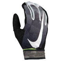 ナイキ メンズ 野球 グローブ【Nike Vapor Elite Batting Gloves】Anthracite/White