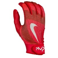 ナイキ メンズ 野球 グローブ【Nike MVP Edge Batting Gloves】University Red/University Red/White