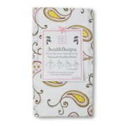 SwaddleDesigns Marquisette Blanket - Pastel Pink Paiselys スワドルデザインズ ブランケット ピンクペイズリー