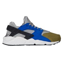 ナイキ レディース シューズ・靴 スニーカー【Nike Air Huarache】Matte Silver/Black/Game Royal/Olive