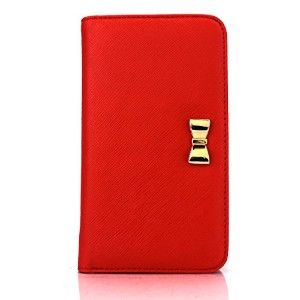iPhone6s カバー Fantastick Wallet Case for iPhone6/6s (Ribbon Red) アイフォン6s アイフォン6 手帳型ケース