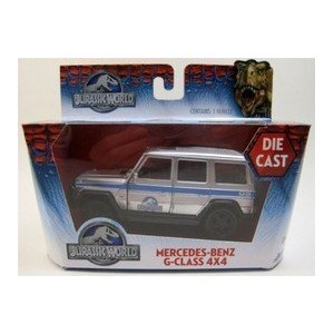 ジュラシック・ワールド Jurassic World 2015 Movie- 1:32 Scale diecast Mercedes-Benz G-Class 4X4