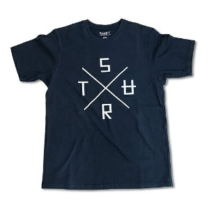 RHC Ron Herman (ロンハーマン): SURT CROSS LOGO by SURT Tシャツ ネイビー