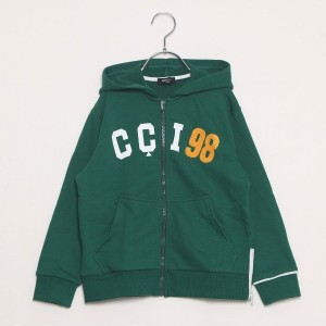 【SALE 23%OFF】コムサイズム COMME CA ISM カラーパーカー (グリーン)