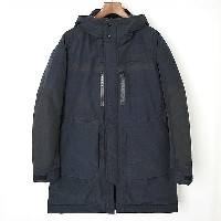 White Mountaineering ホワイトマウンテニアリング 16AW GORE-TEX NYLON TAFFETA 3LAYER DOWN COAT ネイビー 1【中古】