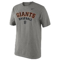 ナイキ メンズ トップス Tシャツ【Nike MLB Practice T-Shirt】Dark Grey Heather
