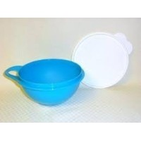Tupperware Thatsa Bowl Mini 6-cup in Rain Drop Blue by Tupperware