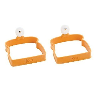 Joie Toast Shaped Silicone Egg Ring, Square by MSC International