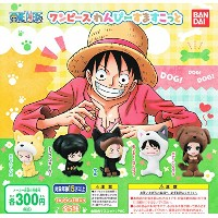 ONE PIECE ワンピース わんぴーすますこっと 全5種セット ガチャガチャ