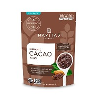 Navitas Naturals Organic Raw Cacao Nibs, 8-Ounce Pouches [並行輸入品]