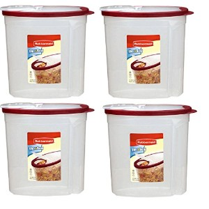 Rubbermaid Home Cereal Keeper Clear/ Red ( ) by Rubbermaid