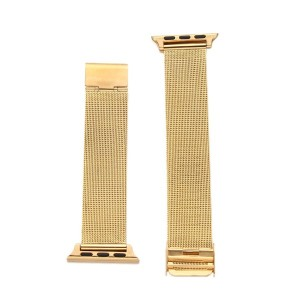 Emall New Strap Bracelet Band Metal Replacement for Apple Watch Gold 38mm
