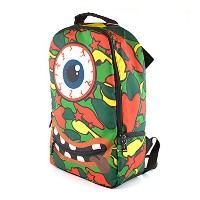 (KEEP YOU) BACK PACK リュックサック バックパック 柄 モンスター MONSTER