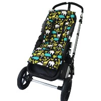 Tivoli Couture Nu Comfort Memory Foam Stroller Pad and Seat Liner, At the Zoo by Tivoli Couture