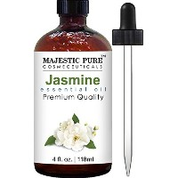 Jasmine Essential Oil From Majestic Pure, Therapeutic Grade, Pure and Natural , 4 fl. oz. by...