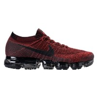 "Nike Air VaporMax ""Deep Red"" Running Shoes メンズ Dark Team Red/Black-University Red ナイキ ランニングシューズ..."