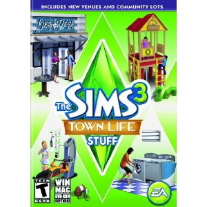 The Sims 3: Town Life Stuff (輸入版)