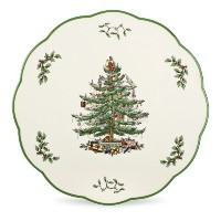 Spode Christmas Tree Cheese Plate or Trivet by Spode