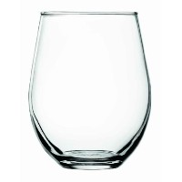 アンカーホッキングVienna Stemless Red Wine Glasses、20 oz (セットof 4 )