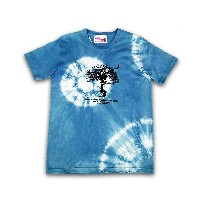 "ASCENSION(アセンション) JUICE × ASCENSION コラボ【JAPAN BLUE TEE ""Grow A Hand""-The Arth-】藍染・インディゴ染め・メンズ(mens)..."