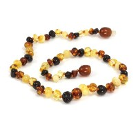 Momma Goose Baroque Teething Necklace, Multi, Small, 11/11.5 by Momma Goose