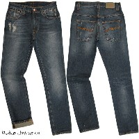 【SALE】30%OFF★Nudie Jeans co(ヌーディージーンズ) THIN FINN (シンフィン) TIGHT FIT, NORMAL WAIST, LOW YOKE, NARROW...
