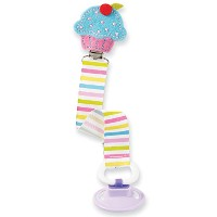Mud Pie Cupcake Pacy Clip by Mud Pie