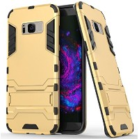 Galaxy S6 ケース, Awesome Armor Foldable Movie Back Stand Slim カバー, TAITOU New Ultra Hybrid 2 In 1...