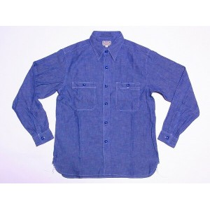 Buzz Rickson's[バズリクソンズ] シャンブレーシャツ BR25995 長袖 BLUE CHAMBRAY WORK SHIRT BR25995 (BLUE) 【RCP】