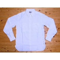 Buzz Rickson's[バズリクソンズ] シャンブレーシャツ BR25996 長袖 WHITE CHAMBRAY WORK SHIRT (OFF WHITE) 【RCP】