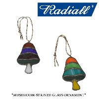RADIALL(ラディアル)MUSHROOM-STAINED GLASS ORNAMENT【2017AUTUMN/WINTER新作】【即発送可能】【RADIALL オーナメント】【RAD-17AW...