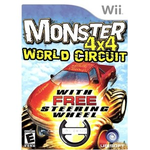 【Monster 4x4: World Circuit Wii】 b000ifrple