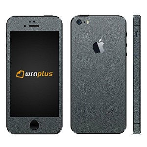 wraplus for iPhoneSE & iPhone5S/5 【ガンメタリック】 スキンシール