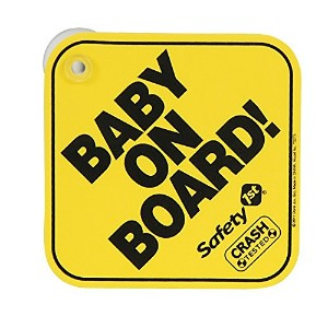 Safety 1st Foam Baby On Board and Mom-To-Be Sign Board by Safety 1st