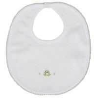 Kissy Kissy Baby Boys Homeward Bound Froggie Embroidered Bib-One Size by Kissy Kissy