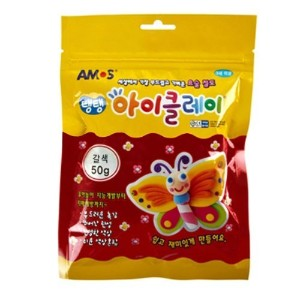 Single Color Clay 50g (Brown) by AMOS