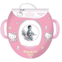 Hello Kitty Kids Soft Padded Potty Toilet Training Seat With Handles WC Child Toddler by Hello Kitty