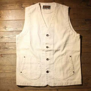 "AT-DIRTY""WORKERS VEST""IVORY【AT-DIRTY】(アットダーティー)正規取扱店(Official Dealer)Cannon Ball(キャノンボール)【あす楽対応..."
