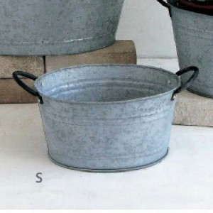 【HUY810S 】■NORMANDIE OVAL POT S【スパイス SPICE ガーデン ガーデニング ポット バケツ】