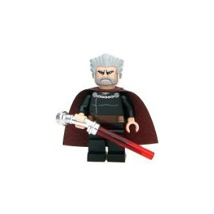 LEGO Star Wars Clone Wars LOOSE Mini Figure Count Dooku with Silver Lightsaber ドゥークー伯爵